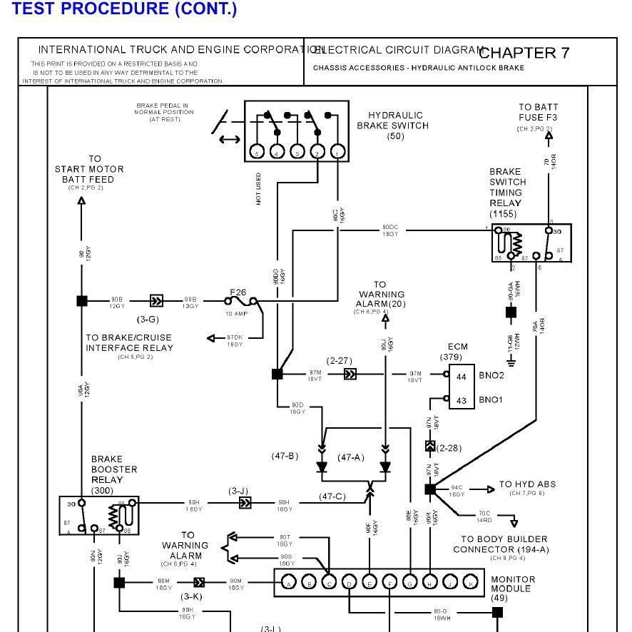 International Wiring Diagrams - Wiring Diagrams Best on