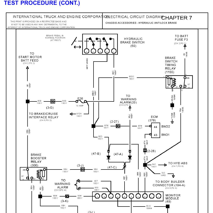 international navistar truck manuals pdf wiring diagrams 14 rh truck manuals jimdo com international truck radio wiring diagram 1997 international truck wiring diagram
